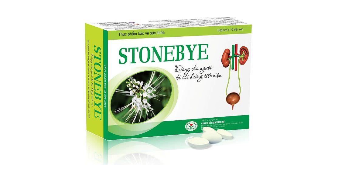 Stonebye – Giải pháp vàng cho người sỏi thận, sỏi tiết niệu, viêm đường tiết niệu
